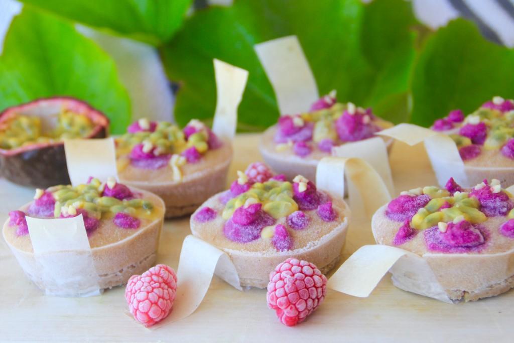 Dairy Free Rainbow Gelato Cakes