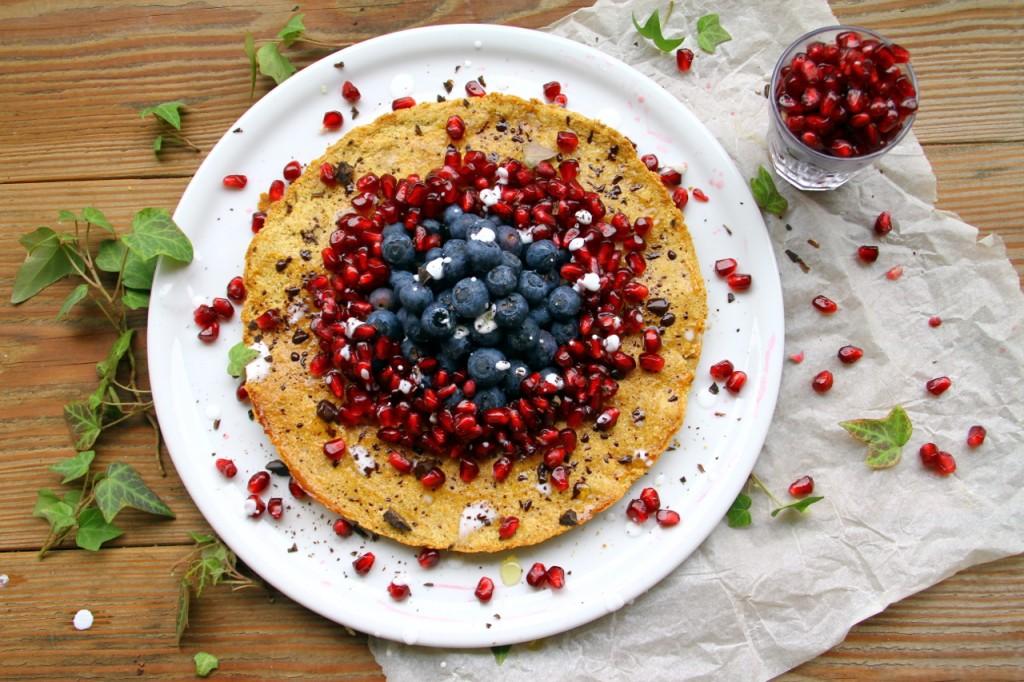 Gluten Free Shortbread: Pomegranate Berry Pastafrolla