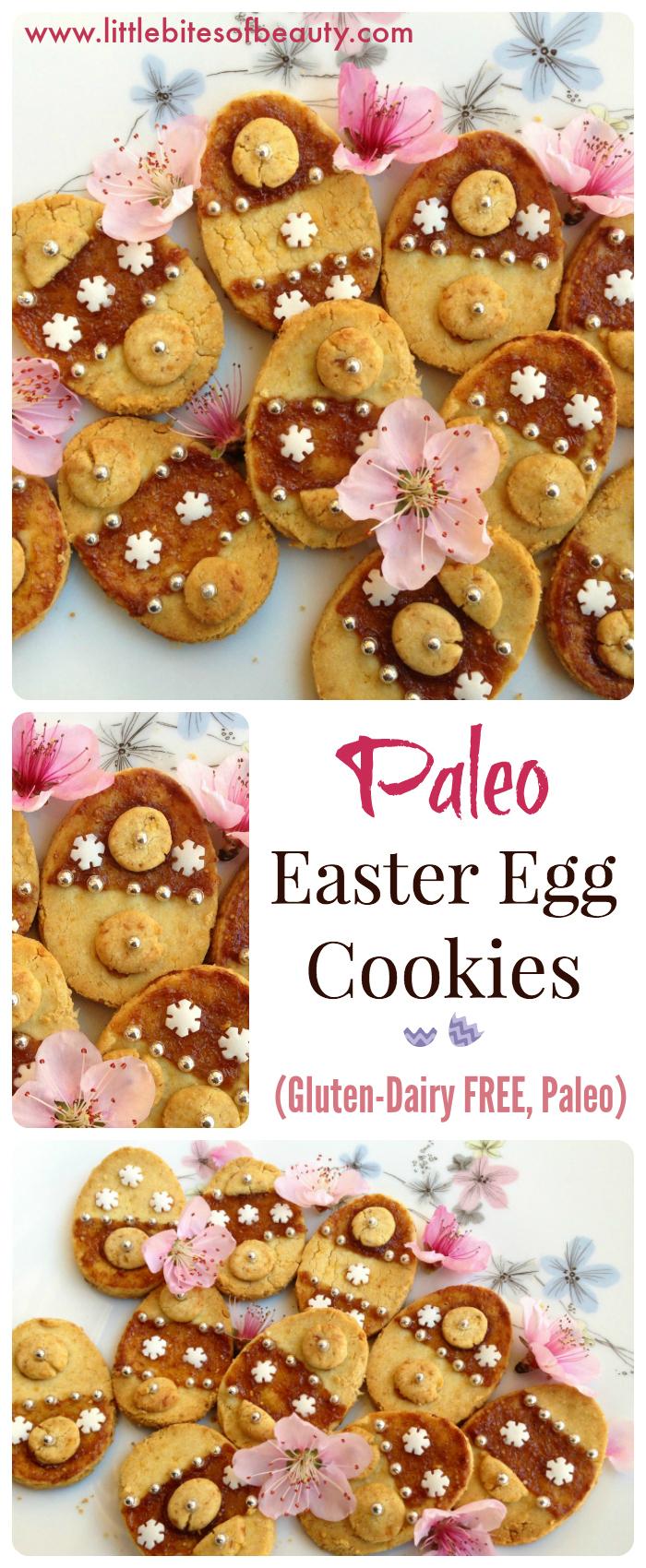 Paleo Easter Egg Cookies - Little Bites Of Beauty