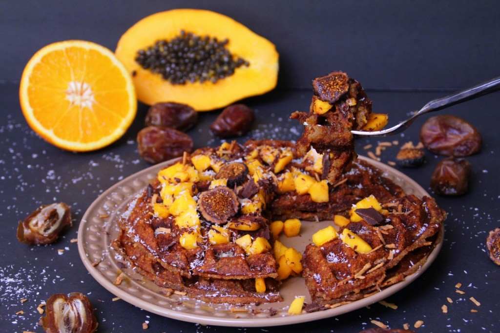 Grain Free – Paleo Waffles with Coconut Flour (GF, DF, AIP)