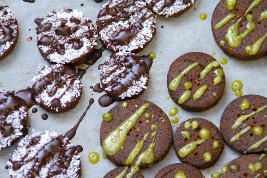Grain & Gluten Free Chocolate Coffee Cookies