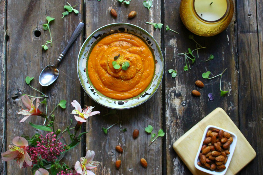 AIP Carrot & Ginger Soup (Paleo & Dairy Free)