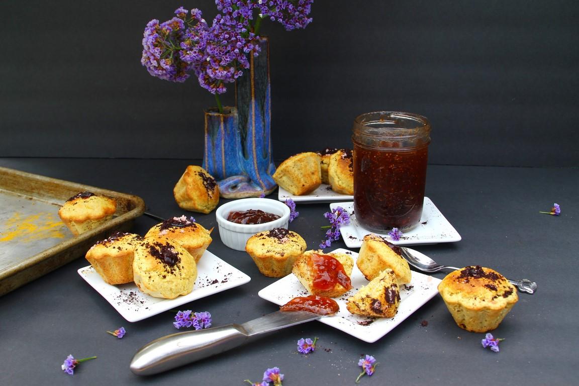 Easy Orange Paleo Muffins (Nut & Gluten FREE)