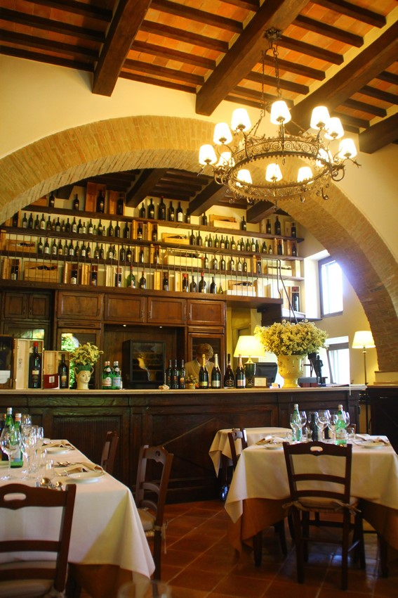 "beautiful entrance vault of ""Taverna"