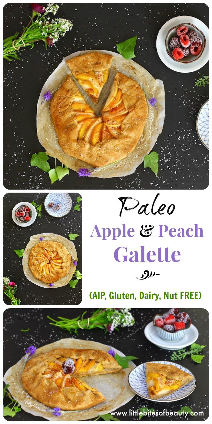 Paleo Apple & Peach Galette