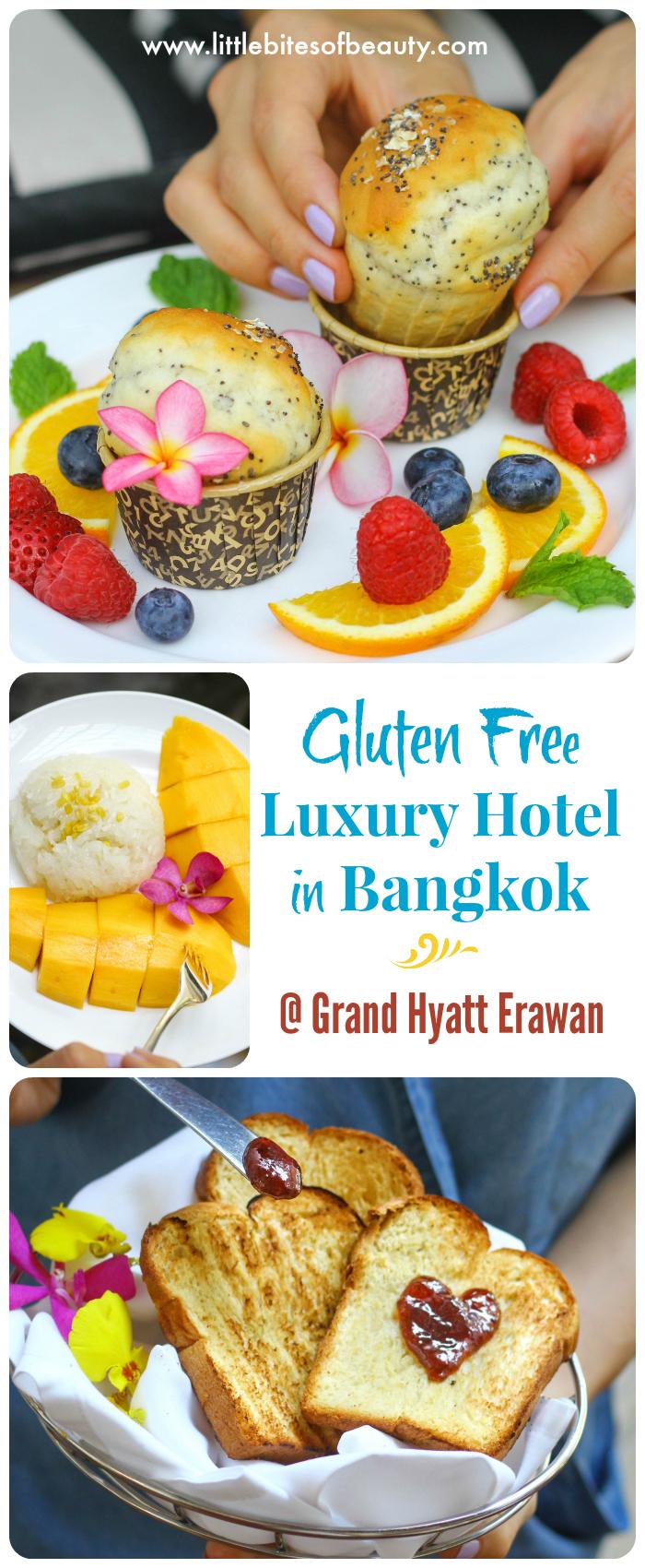 Gluten Free Luxury Hotel in Bangkok. Grand Hyatt Erawan