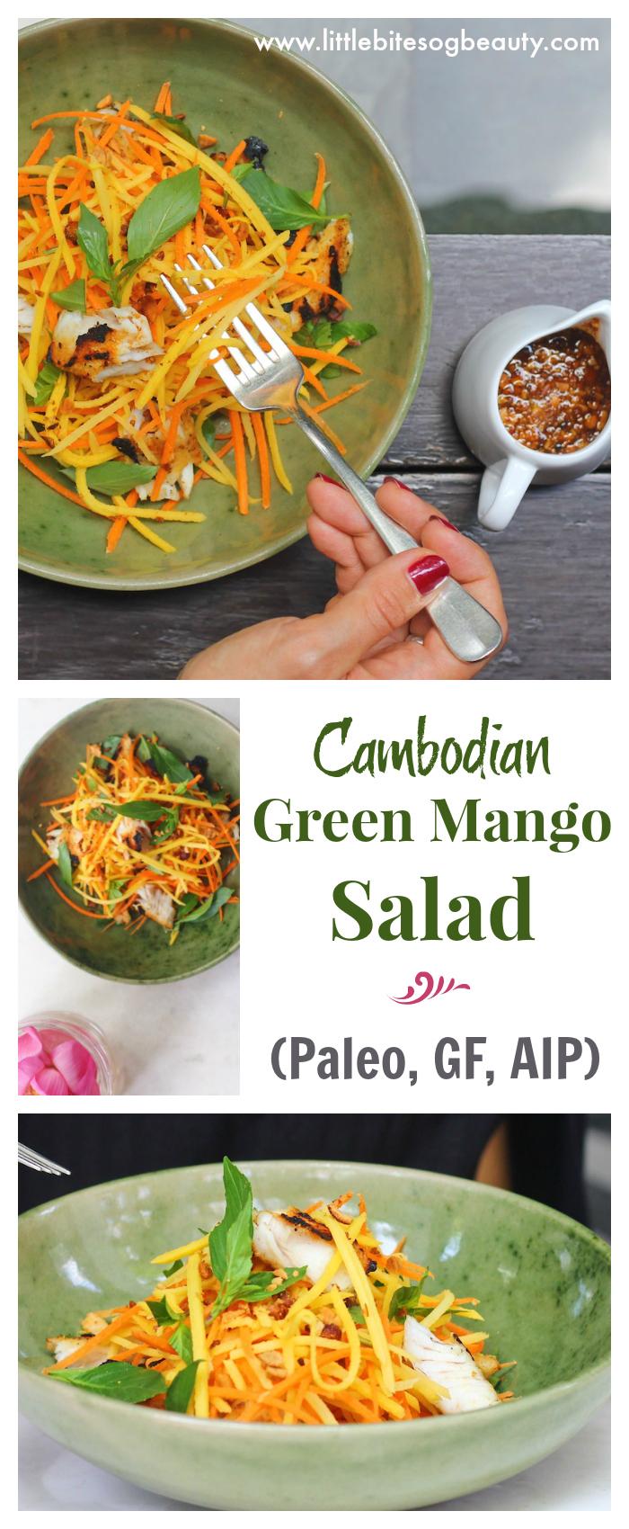 Green Mango Salad (Paleo, GF, AIP)
