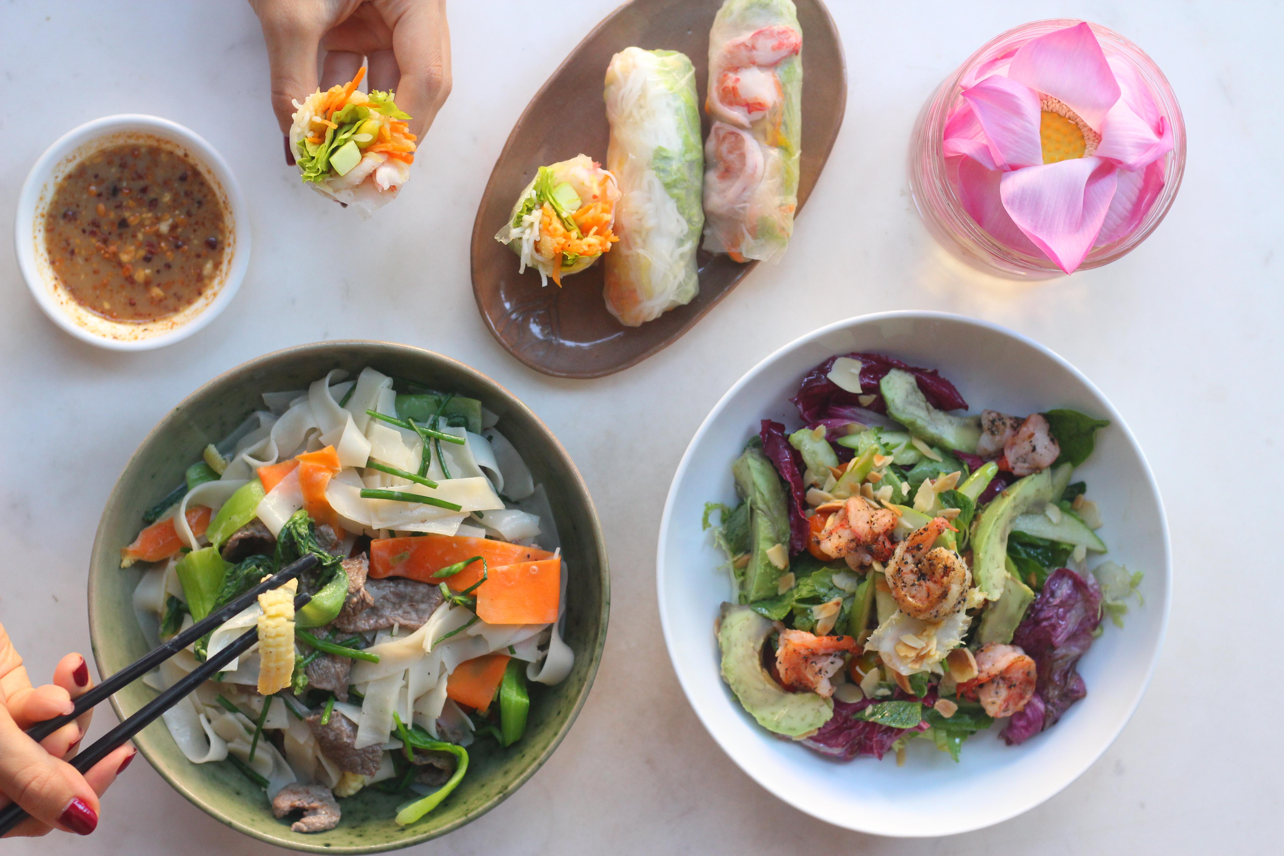 Green Mango Salad from the Park Hyatt Siem Reap