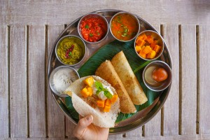 Gluten free Indian crepes