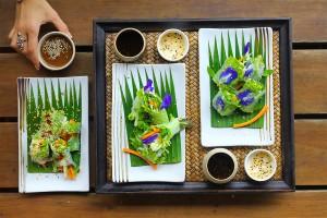 Gluten Free Spring Rolls with Tamarind Dip
