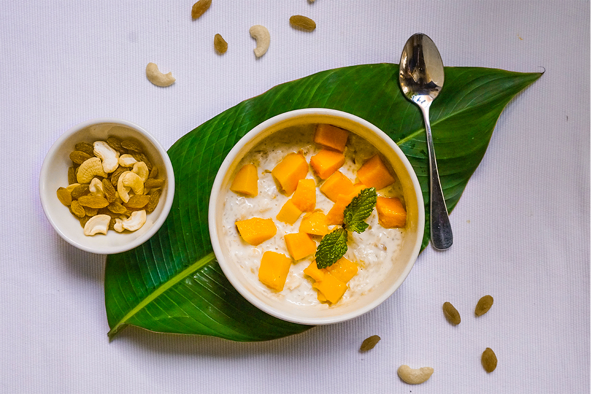 Indian Rice Pudding With Cardamom