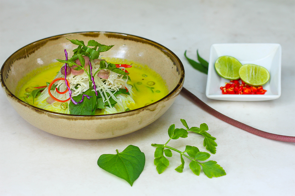 Cambodia: a Gluten Free Country (& the Park Hyatt's RECIPE for Fish Curry Noodle Soup).