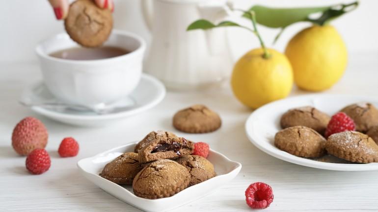 Cacao Free Chocolate Soufflé Cookies (GF, Paleo, AIP)