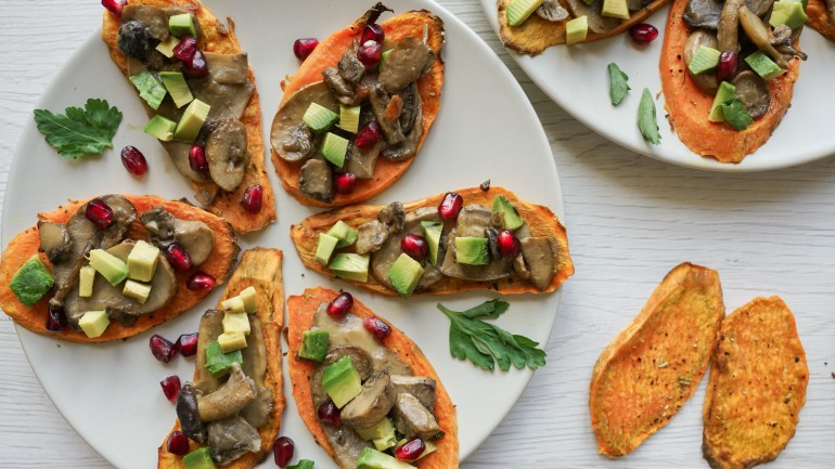 Grain Free Sweet Potato Toasts (GF, DF, Paleo, AIP)