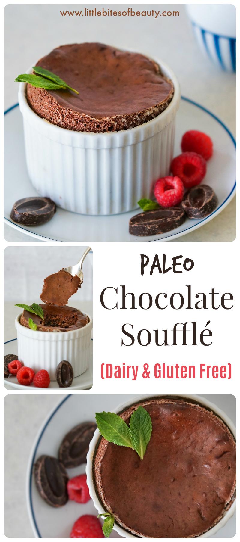 Paleo Chocolate Soufflé (Nut, Dairy & Gluten Free)