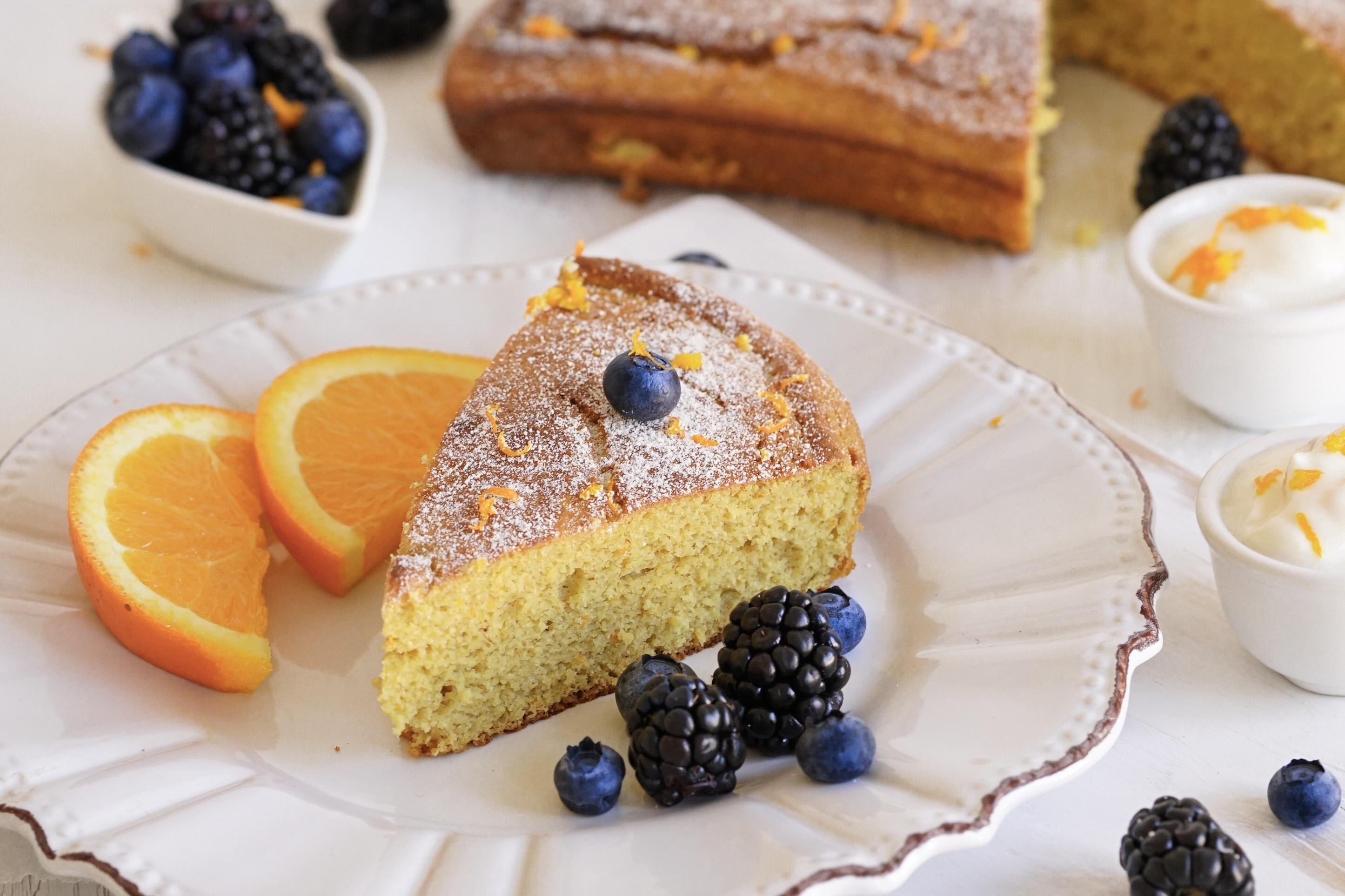 Paleo Orange Cake (Gluten, Dairy, Nut & Coconut Free)