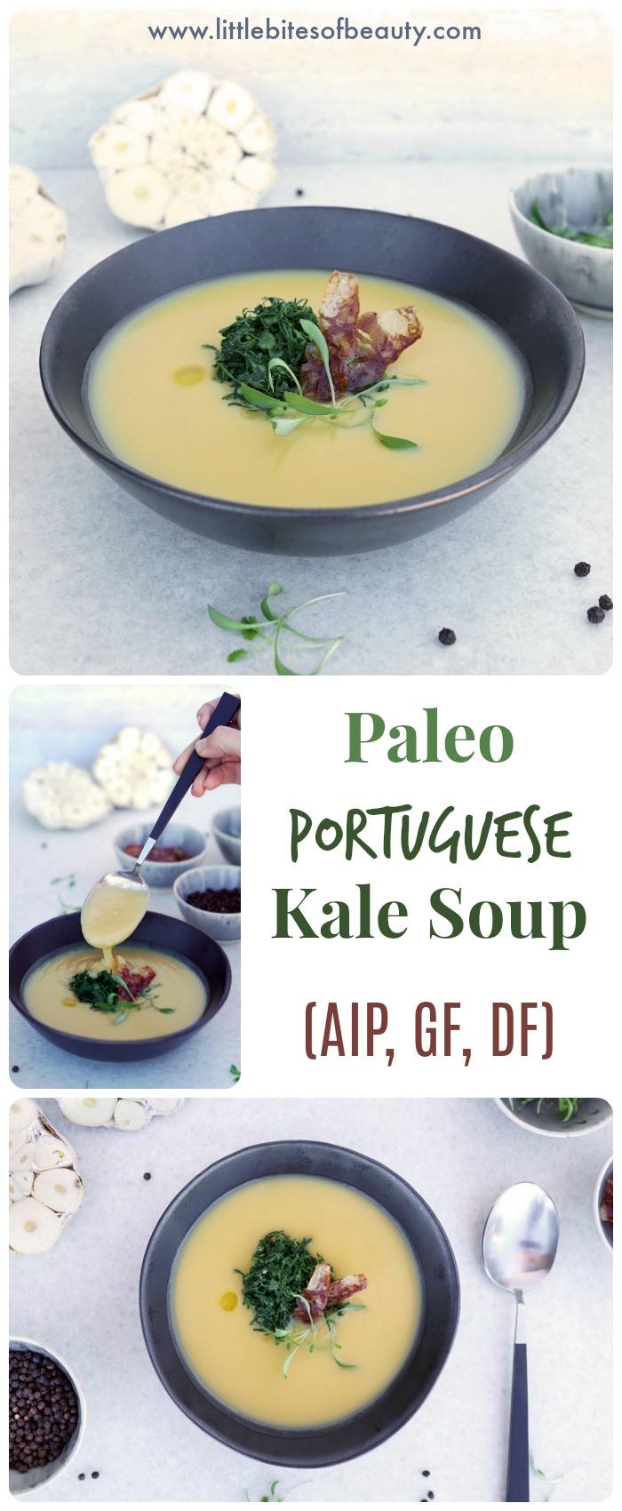Paleo Portuguese Kale Soup (AIP, Dairy & Gluten Free)