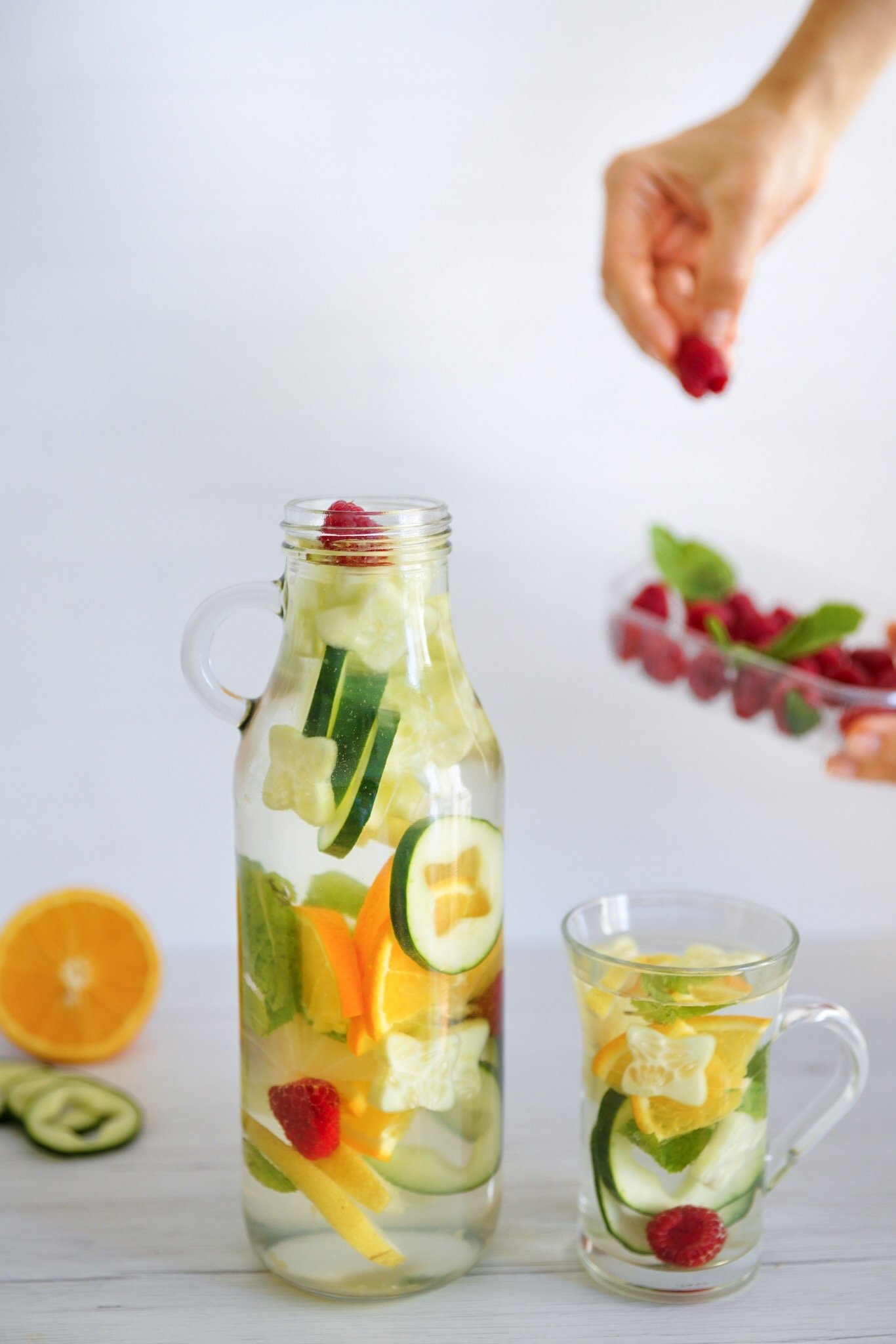 Easy Summer Detox Water (Paleo, AIP)