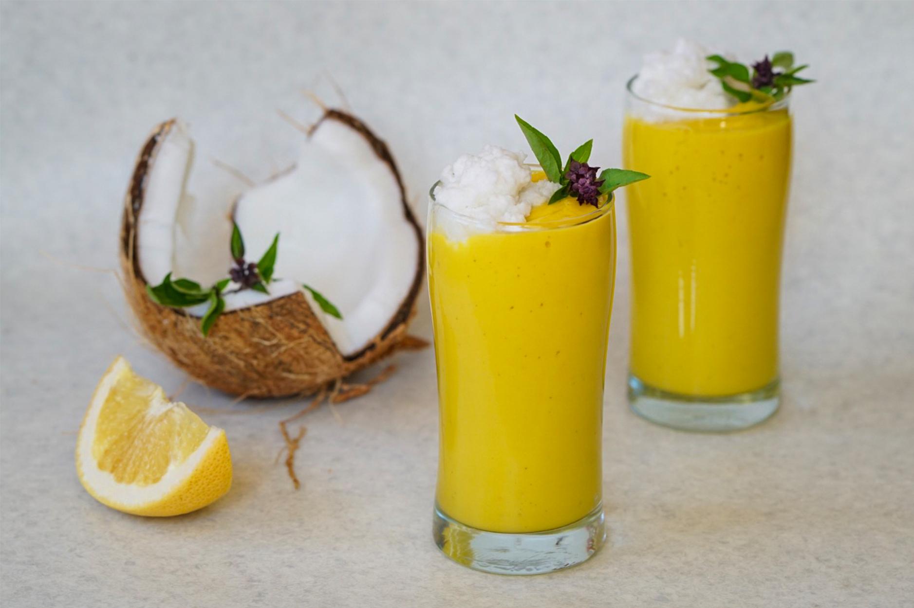 Dairy Free Mango Lassi (Paleo & AIP)