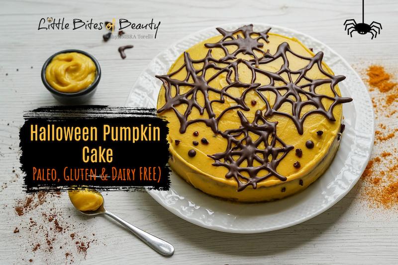 Paleo Halloween Cake