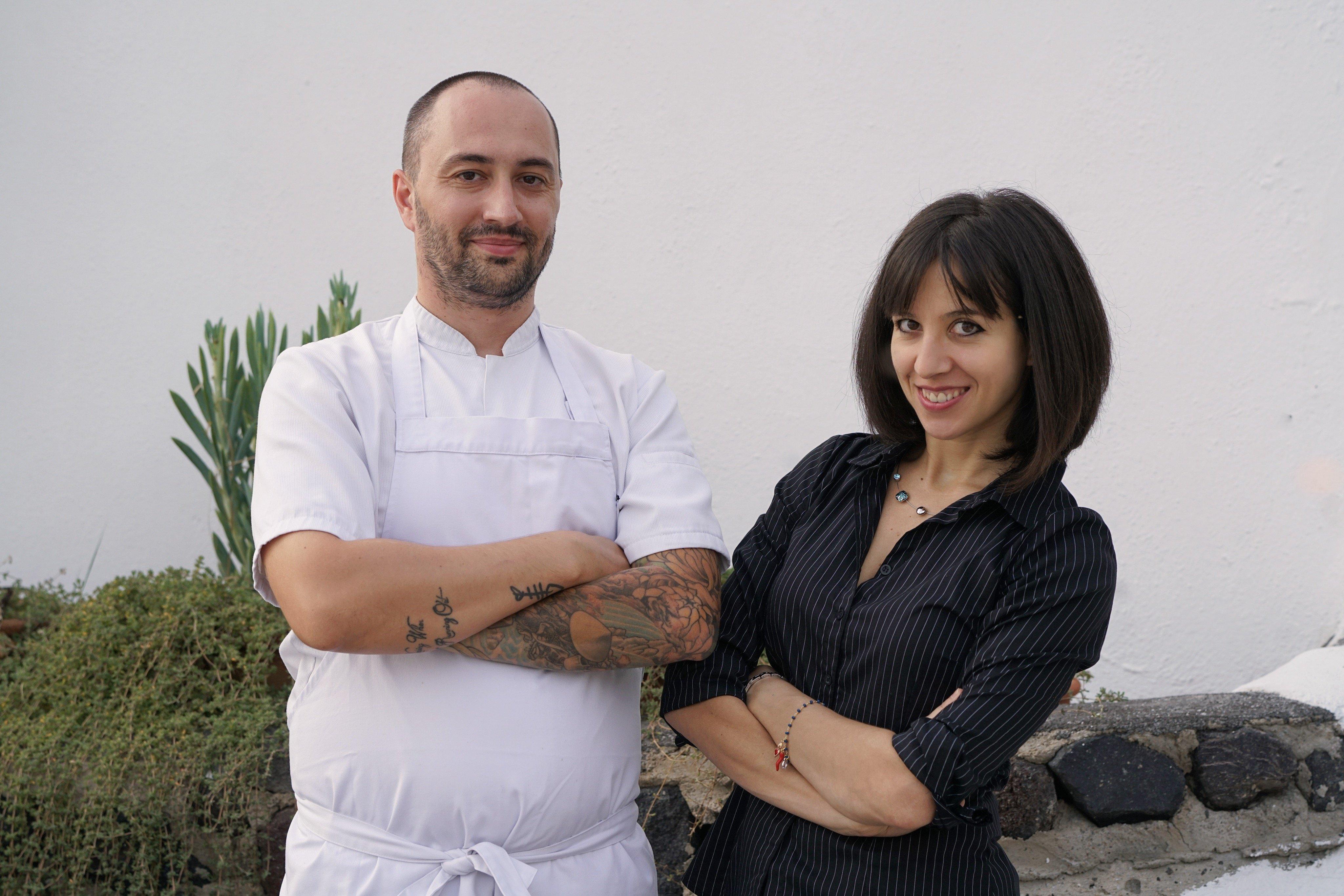 Ambra Torelli & Chef Theodoros Kakoulis