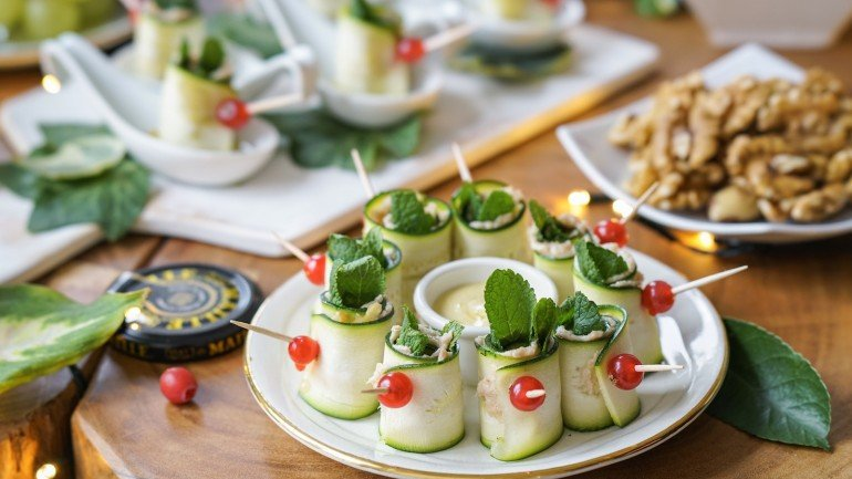 Healthy Holiday Party Finger Food (Dairy & Gluten Free)