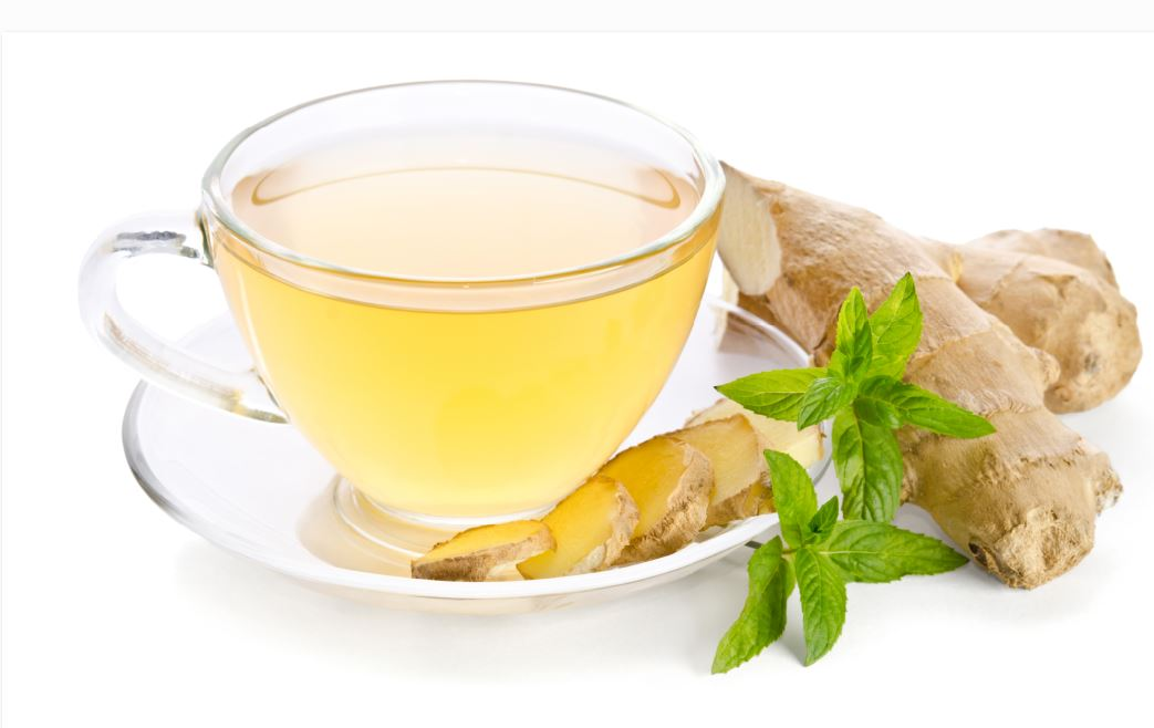 ginger tea - AIP approved drinks