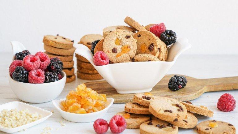 AIP Paleo Fruit Cookies (Vegan, Dairy & Gluten Free)