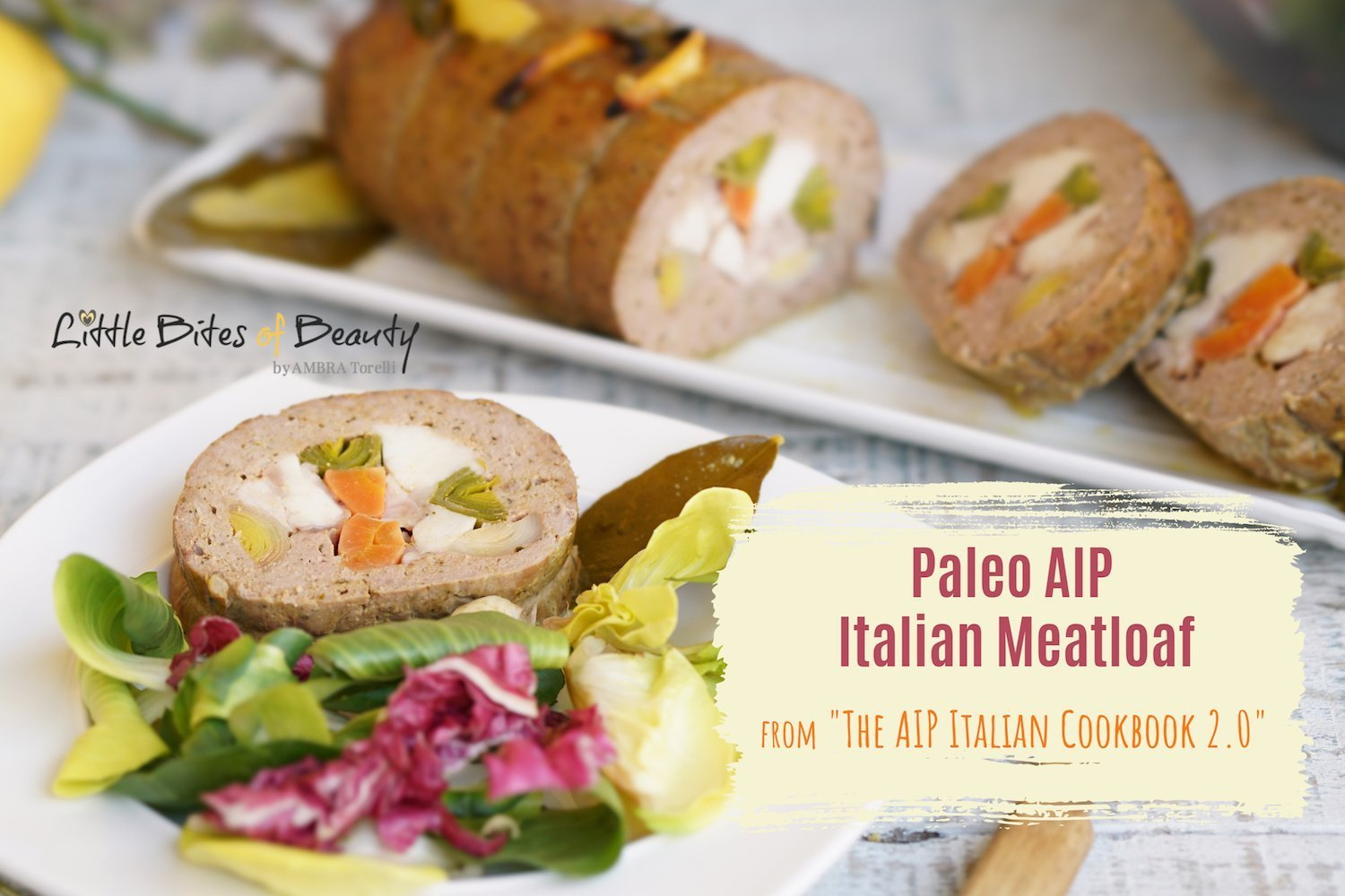 AIP Italian Food - Paleo AIP Meatloaf Italian Style from The AIP Italian Cookbook