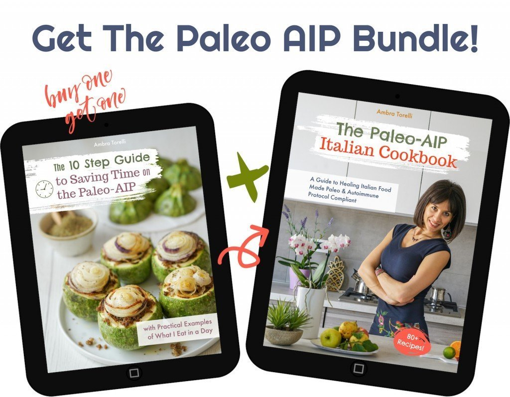 Paleo AIP Italian Cookbook Bundle