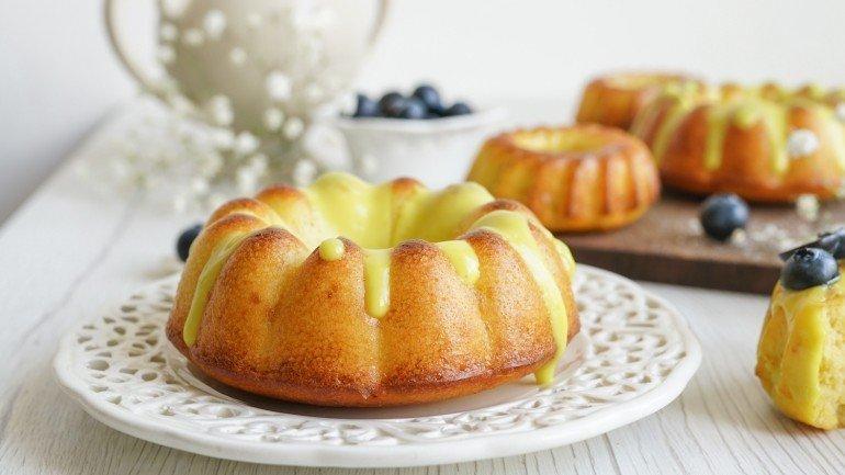Paleo Lemon Pound Cake (Dairy & Gluten Free)