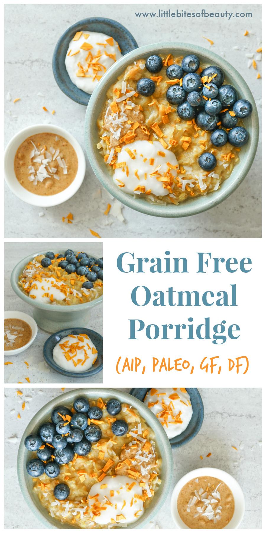 _Grain Free Paleo Oatmeal Porridge (Dairy & Gluten Free, AIP), AIP)