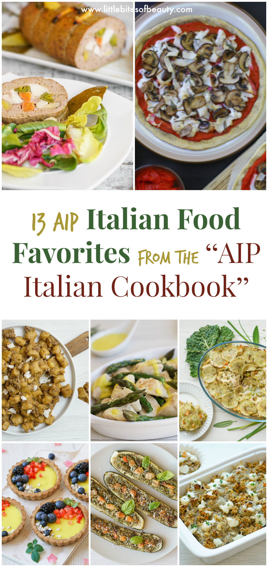 "Top 13 AIP Italian Food Recipes from the ""AIP Italian Cookbook"""