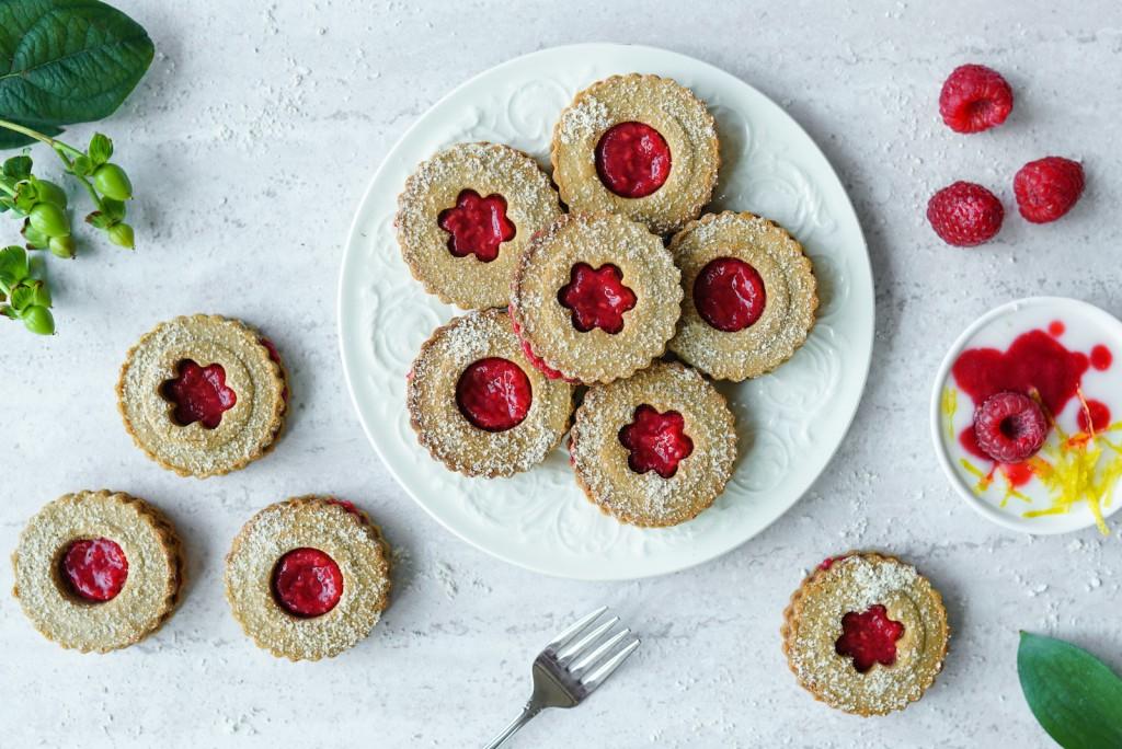 Gluten Free Linzer Cookies (Paleo, Dairy & Gluten Free)