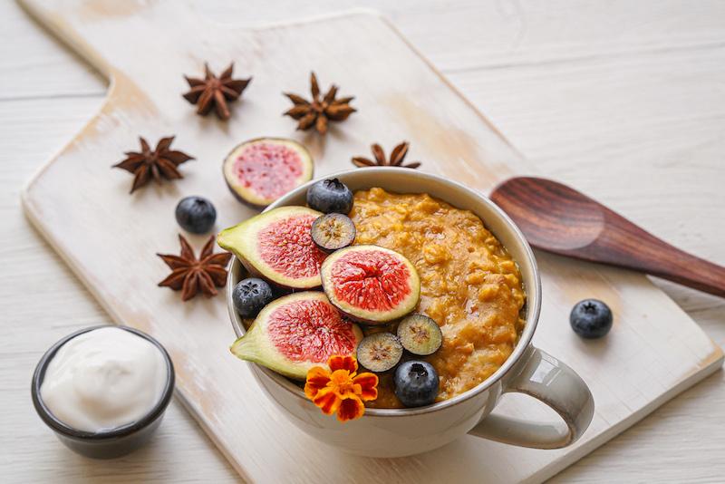 Pumpkin Oatmeal Porridge (Dairy & Gluten Free)