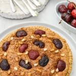 Italian Cherry and Almond Tart (Dairy & Gluten Free)