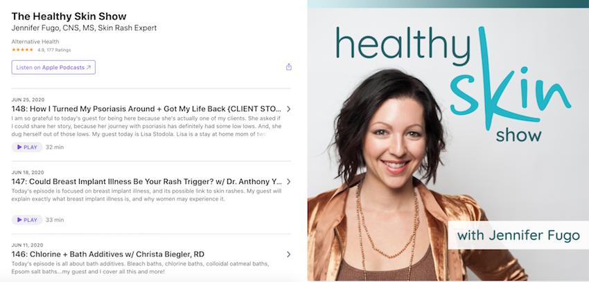 Jennifer Fugo Healthy Skin Show