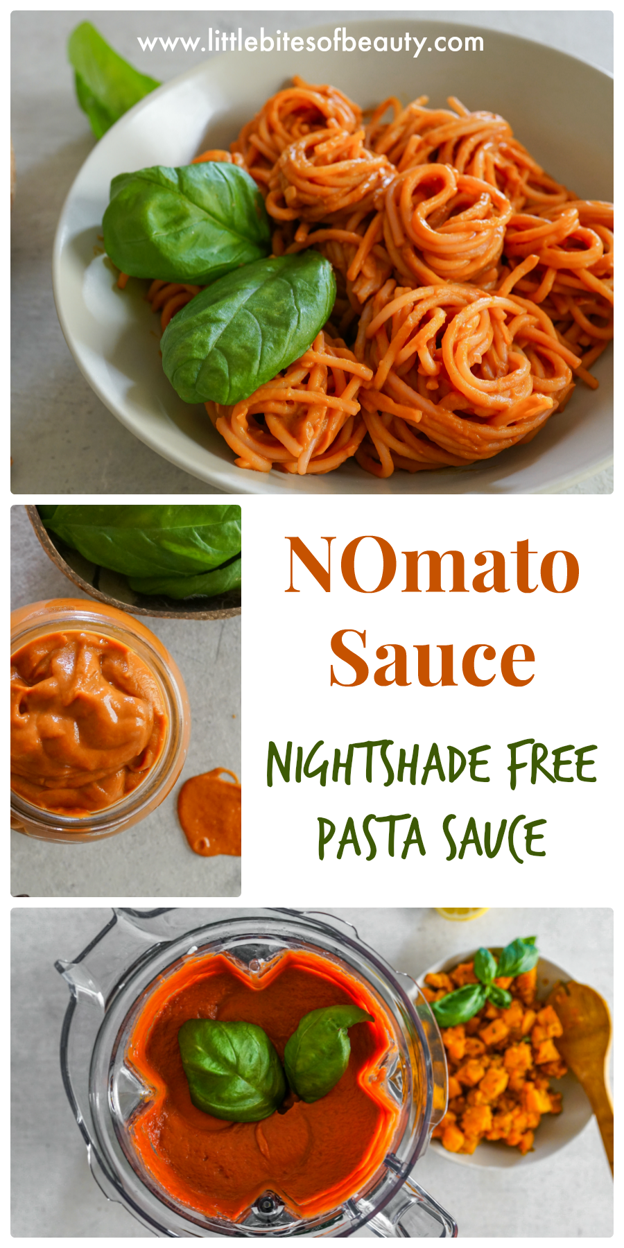 NOmato Sauce (Nightshade Free Pasta Sauce)