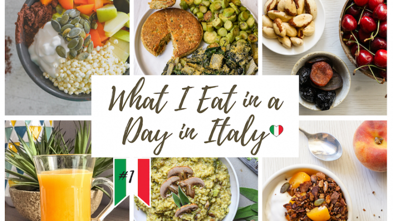 What I Eat in a Day in Italy ~ (Healthy, Realistic)