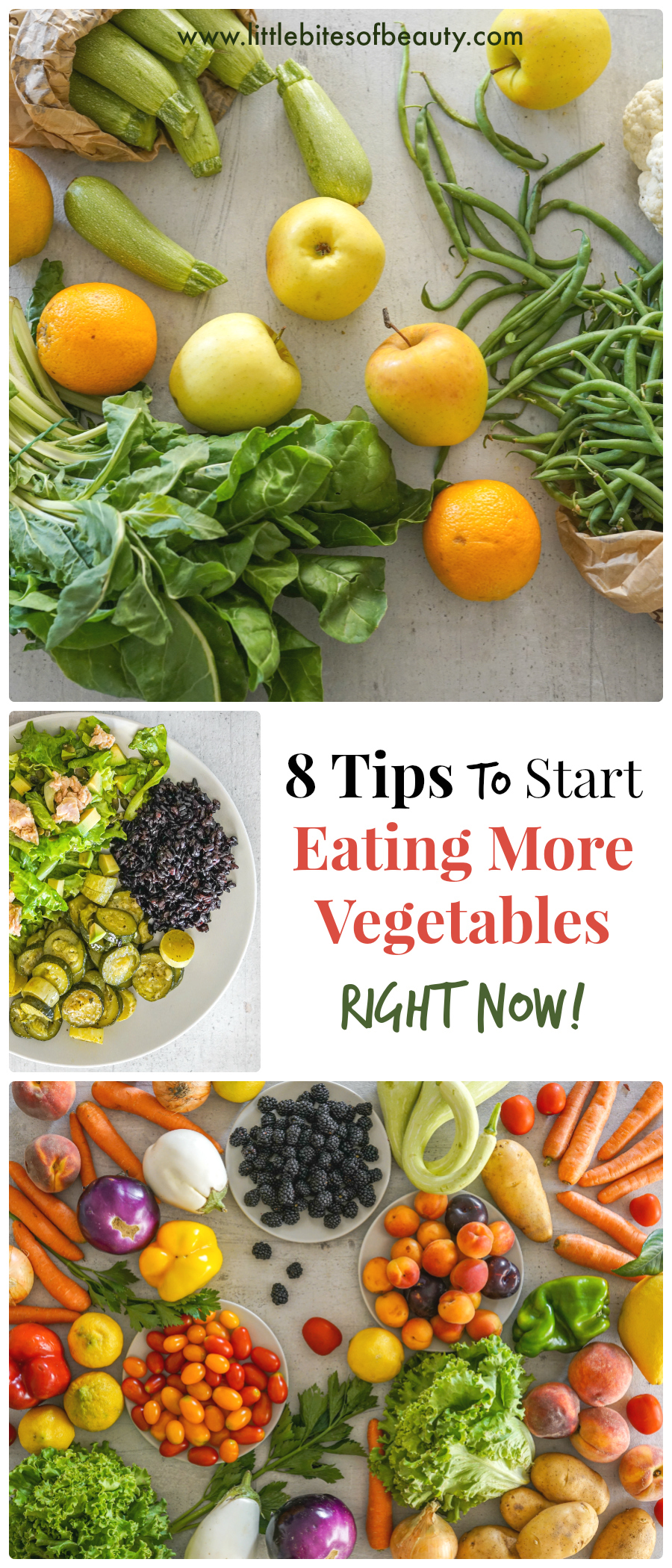 8 Tips to Start Eating More Vegetables Right Now 1