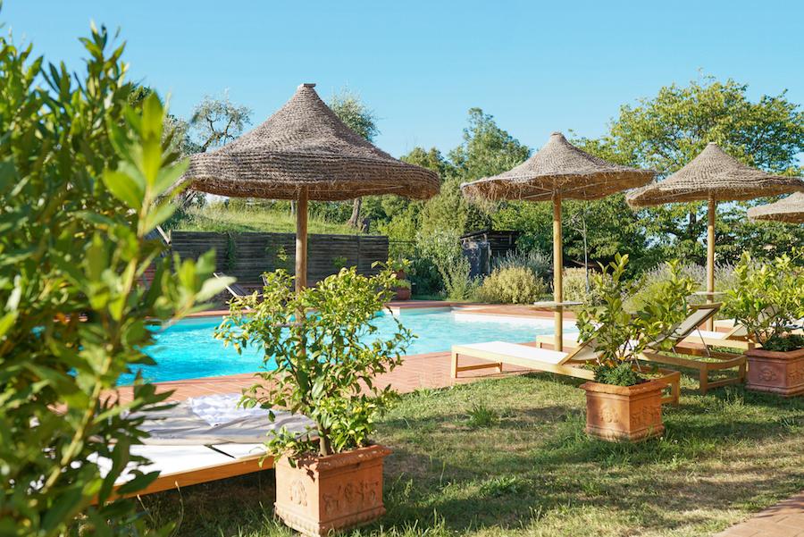 The Pool at Agrivilla I Pini, Tuscany