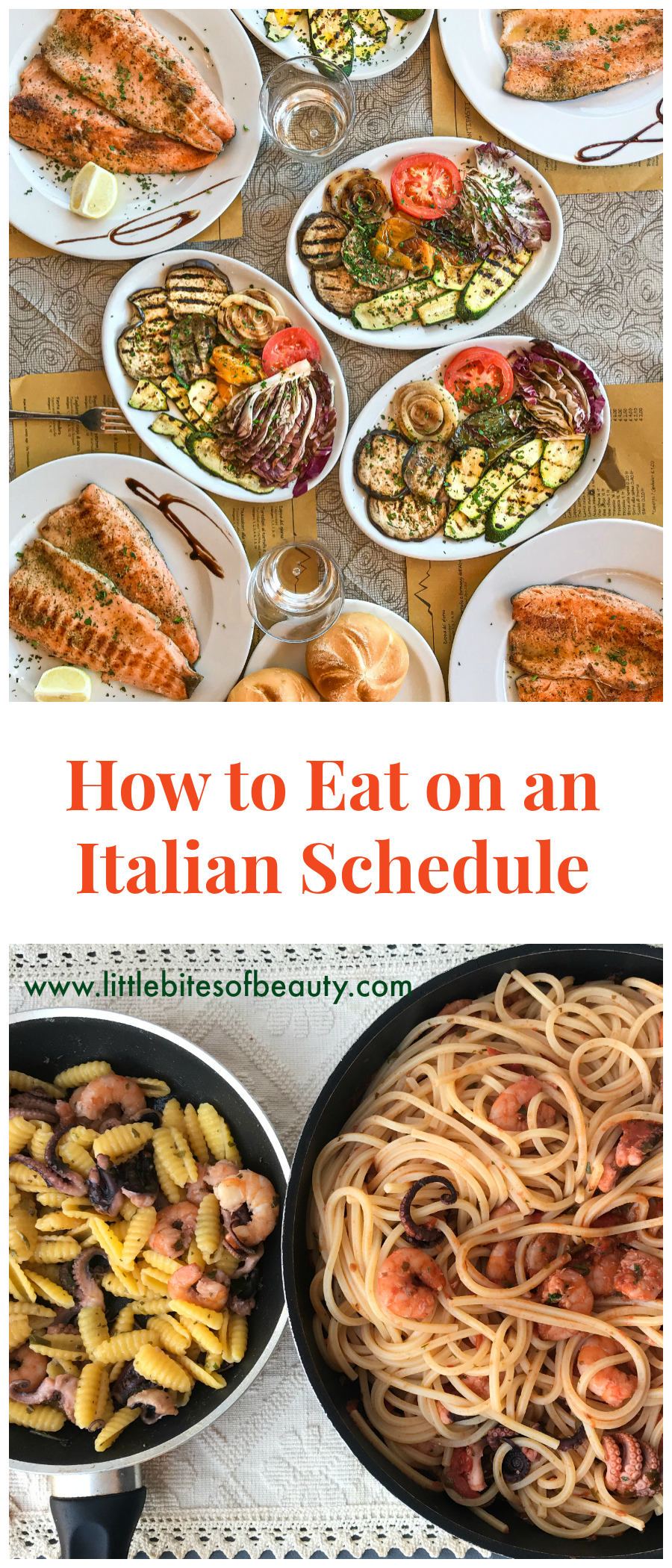 Eating on an Italian Schedule
