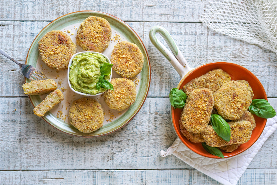 Tuna and Potato Patties (Italian Polpette) - Dairy & Gluten Free