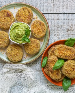 Tuna and Potato Patties (Italian Polpette) - Dairy & Gluten Free