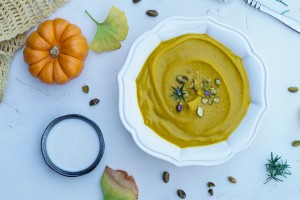 Roasted Kabocha Squash Soup (GF, DF, Vegan, AIP)