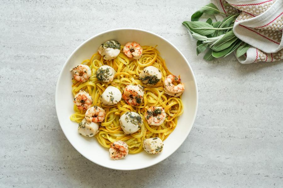Grain Free Seafood Pasta (GF, DF, AIP)